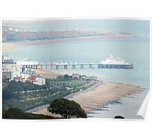 Eastbourne seafront Poster