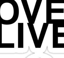 YOLO (Yoko Ono Loves Olives) Sticker