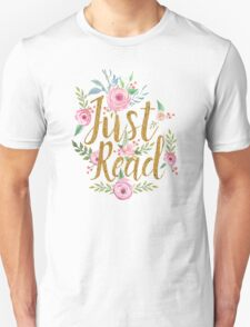 Just Read - White T-Shirt
