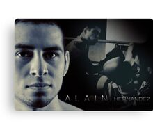 Alain Hernandez Mixed Martial Artist Canvas Print