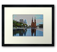 St. Mary's Cathedral,  Sydney Framed Print