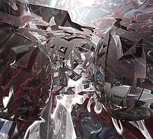Into an Alien Cosmos by Sazzart