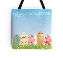 Happy Easter Card Tote Bag