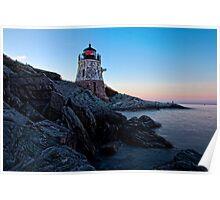 Castle Hill Lighthouse, Newport, RI Poster