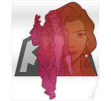 Avatar Generations - Asami Sato Poster