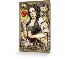 Snow White and the Poisoned Apple Greeting Card