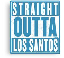 Straight Outta Los Santos Canvas Print