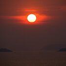 Sunset over Pattaya by Philip Alexander