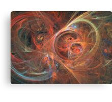 Abstract galaxy Canvas Print