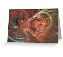Abstract galaxy Greeting Card