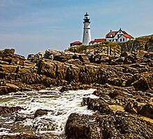 Portland Head Lighthouse, Cape Elizabeth, ME by Stephen Cross Photography