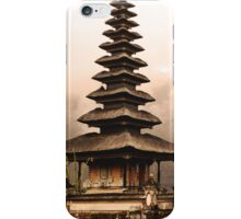 BaliWall Art 01 iPhone Case/Skin