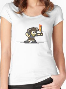 8 Bit Dragonborn Women's Fitted Scoop T-Shirt