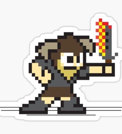 8 Bit Dragonborn Sticker