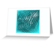 Echos of Fractal Images Greeting Card