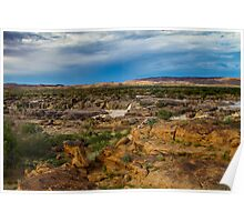 Augrabies rock formations. Poster