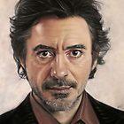 Robert Downey Jr by Valerie Simms