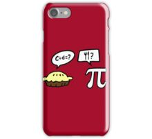 Pie and Pi iPhone Case/Skin