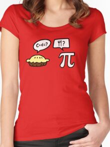 Pie and Pi Women's Fitted Scoop T-Shirt