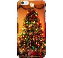 Sixties Christmas Tree Living Room iPhone Case/Skin