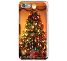 Sixties Christmas Tree Living Room iPhone Case/Skin