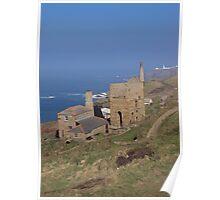 Levant Mine, Cornwall Poster