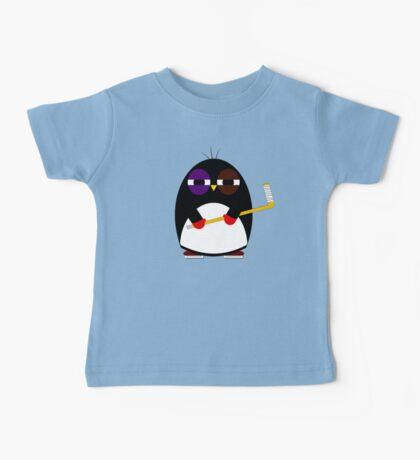Hockey penguin Baby Tee