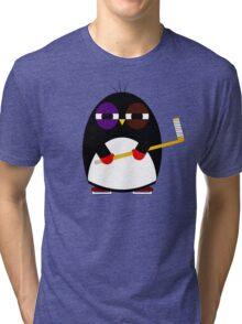Hockey penguin Tri-blend T-Shirt
