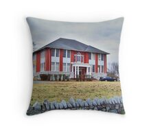 Converted Schoolhouse Throw Pillow