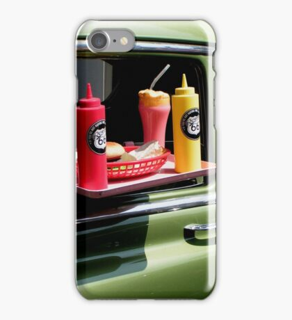 Sun tanned 1950s milkshake iPhone Case/Skin