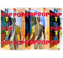 Here - Pop Not Style artwork by Upside-Down Artist L. R. Emerson II Poster