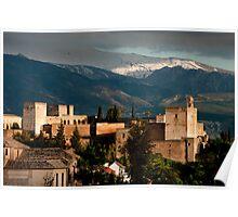 Alhambra Granada Spain Poster