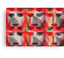 """Fame 8"" Pop Not Art by Designer/Artist/Inventor L. R. Emerson II Canvas Print"