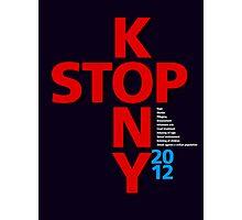 STOP KONY.2 2012 Photographic Print