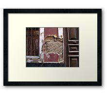 Art by the Ravages of Time .... Framed Print