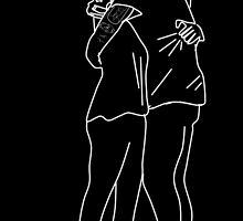 Larry Hug Doodle by Itzmiri