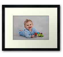 So cute! Framed Print