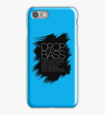 SHOW YOU SOME TECKTONIK MOVES  iPhone Case/Skin