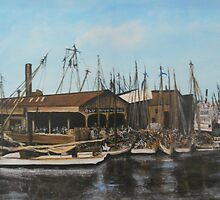 Old Dominion Steamship, Norfolk, VA 1910 by Jsimone