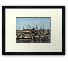 Old Dominion Steamship, Norfolk, VA 1910 Framed Print