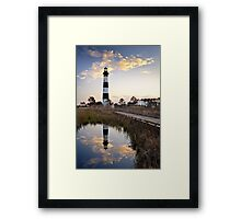 Bodie Island Lighthouse - Cape Hatteras Outer Banks NC Framed Print