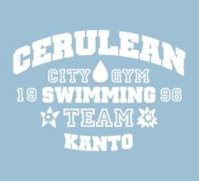 Cerulean Swimming Team Kids Tee