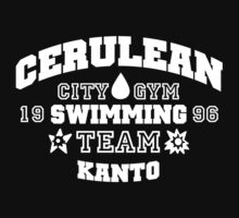 Cerulean Swimming Team One Piece - Short Sleeve