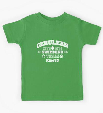 Cerulean Swimming Team Kids Tee