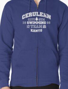 Cerulean Swimming Team Zipped Hoodie