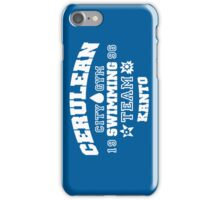 Cerulean Swimming Team iPhone Case/Skin