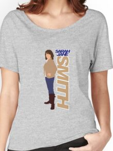 SMITH. Sarah Jane Smith Women's Relaxed Fit T-Shirt