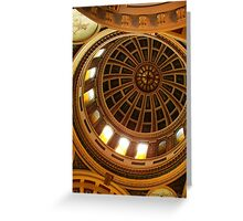 Capitol Dome (Helena, Montana) Greeting Card
