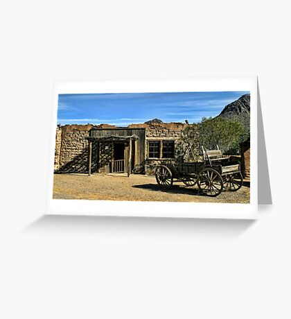 More Old Tucson Greeting Card