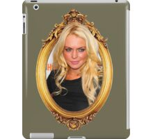 Framed lindsay 1 iPad Case/Skin